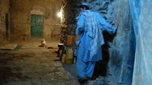 Inside the national-security wing of the Sarpoza prison, on the west side of Kandahar City. (Graeme Smith/The Globe and Mail)