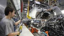 Automotive production is expected to be the rare good news for manufacturing in July statistics. (� Herwig Prammer / Reuters/REUTERS)