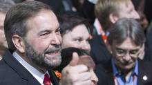 Thomas Mulcair at the party's leadership convention in Toronto on March 24 2012. (Frank Gunn/The Canadian Press/Frank Gunn/The Canadian Press)