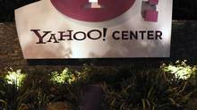 The Yahoo offices are pictured in Santa Monica, Calif., April 18, 2011. (Mario Anzuoni/Reuters)