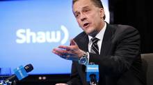 Brad Shaw, CEO of Shaw Communications, answers questions during a news conference at the Shaw AGM in Calgary, Alberta, January 14, 2014. (TODD KOROL/REUTERS)