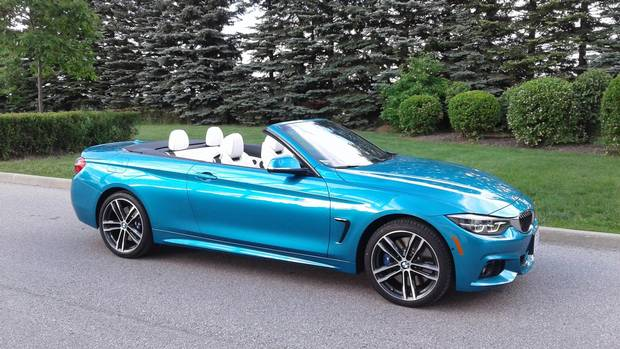 Review Review 2018 Bmw 440i Xdrive Convertible Is A Nimble Road Trip Companion The Globe And Mail