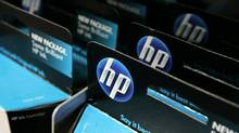 SAN FRANCISCO - JUNE 01: Packages of HP ink cartridges ares displayed at a Best Buy store June 1, 2010 in San Francisco, California. Hewlett-Packard Co. will introduce new printers with Web access and e-mail addresses. (Justin Sullivan/Getty Images)