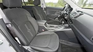 Inside the 2011 Kia Sportage