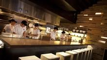 The Noodle Bar at Toronto's Momofuku restaurant. The latest must-have kitchen accessories have much to do with the professional kitchen. (Moe Doiron/The Globe and Mail)