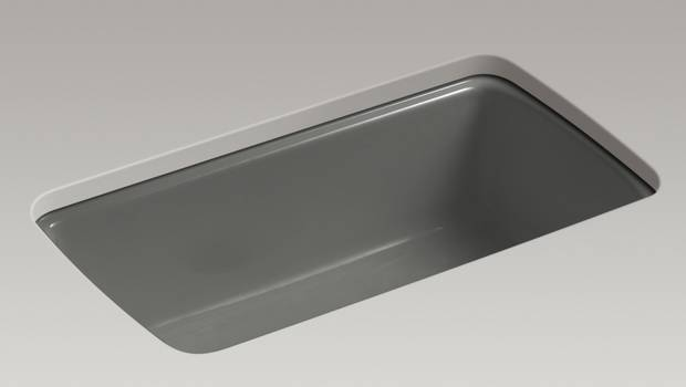 Cape Dory under-mount single-bowl kitchen sink, $1,881 at Kohler (ca.kohler.com).