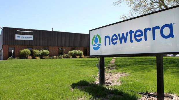 From its plant in Brockville, Ont., Newterra makes large water filtration and treatment systems for mines and other locations in remote places. (Lars Hagberg for The Globe and Mail)