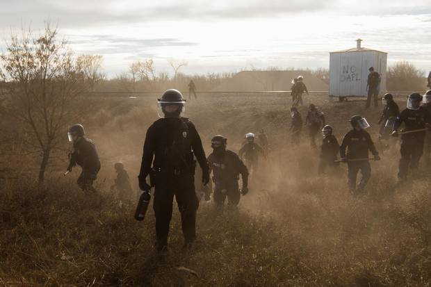 Photographer Amber Bracken's photographs of the Dakota Access Pipeline protests, a series shot over five weeks in North Dakota, won first prize in the World Press Photography award for Contemporary Issues.