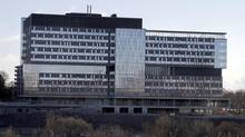 Toronto's Bridgepoint Hospital, Feb. 9, 2013. (Fernando Morales/The Globe and Mail)