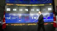 TMX Group, the owner of the Toronto Stock Exchange had $41.4-million of net income in the fourth quarter, or 77 cents per share. (Frank Gunn/The Canadian Press)