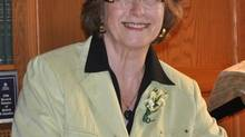 Handout photo of Vicki Huntington, an independent candidate in Delta South, B.C.