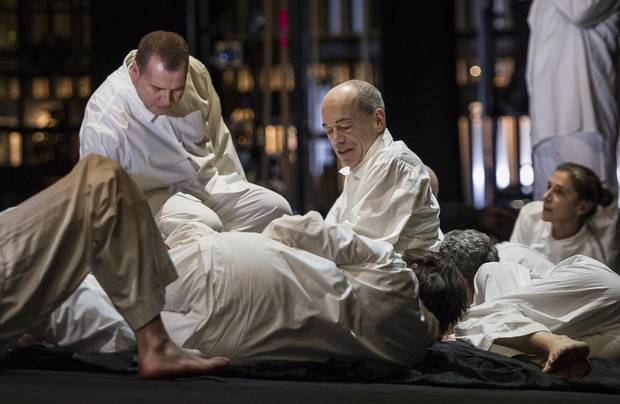 John Allemang is seen during the Canadian Opera Company's production of Siegfried at the Four Seasons Centre in Toronto.