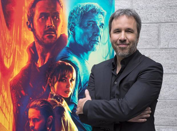 Film director Denis Villeneuve is seen during a photo call for his movie