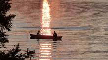 Canoeing at sunset: Pamela Garcia sent us this photo taken on an evening at Wolfe Springs (Pamela Garcia/Pamela Garcia)