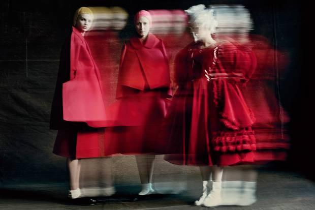 Rei Kawakubo for Comme des Garçons: The Art of the In-Between.