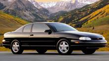 1995 Chevrolet Monte Carlo Z34 Two-Door Coupe (General Motors)