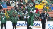 Saskatchewan Roughriders quarterback Darian Durant (Liam Richards/THE CANADIAN PRESS)