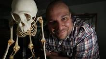 PhD Candidate and primatologist Michael J. C. Reid (Deborah Baic/Deborah Baic/The Globe and Mail)