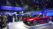 Forward Collision Warning and Lane Departure Warning technologies will be applied to virtually all Honda and Acura models within the next several years, beginning with the all-new 2013 Accord, launching in the fall of 2012. (Honda/Wieck)