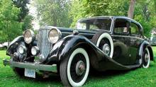 1936 SS Jaguar owned by John Woods Bob English for The Globe and Mail