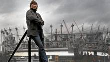 "Sandy Garossino who is part of the coalition ""Vancouver, Not Vegas"" seen seen here in Vancouver Feb, 14, 2011with the new BC Place Stadium in the background where the new casino could go. (JOHN LEHMANN/JOHN LEHMANN/THE GLOBE AND MAIL)"