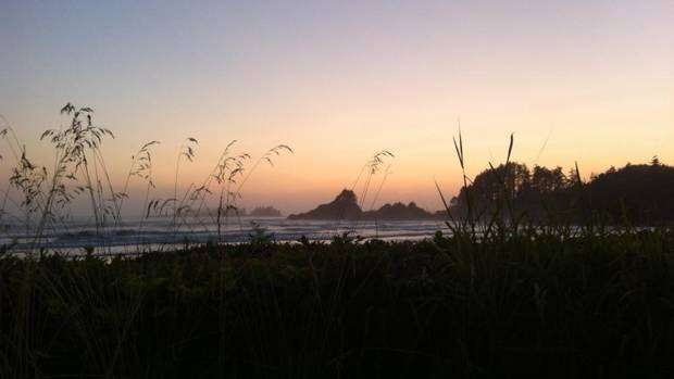 From Matt Morrish, Vancouver B.C: After many trips to various beaches across the country I have to say that my sweet spot was hit with Tofino. as you can see by the attached pic this beach setting is everything one could ever ask for. It is my belief, after an extensive travel history, that Tofino is by far and away Canada's greatest destination location.