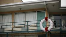 The former Lorraine Motel, now part of the National Civil Rights Museum, in Memphis, Tenn.