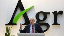 Agrium CEO Michael Wilson argues that shareholders 'will receive far greater value, with less risk, under the company's current strategy.' (TODD KOROL/REUTERS)