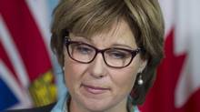 British Columbia's Liberal government under Premier Christy Clark originally forecast a $968-million deficit for the 2012-13 fiscal year. Last month, the deficit prediction deepened to nearly $1.5-billion. (JONATHAN HAYWARD/THE CANADIAN PRESS)