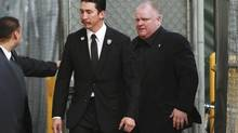Toronto Mayor Rob Ford arrives for an appearance on Jimmy Kimmel Live! in Hollywood March 3, 2014. (Jonathan Alcorn/Reuters)