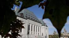 The Supreme Court of Canada is seen in Ottawa, Ont. Tuesday October 2, 2012. (Adrian Wyld/The Canadian Press)