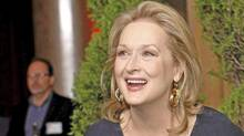 Actress Meryl Streep arrives at the 84th Academy Awards nominees luncheon in Beverly Hills, Calif., Feb. 6, 2012. (MARIO ANZUONI/MARIO ANZUONI / REUTERS)