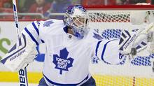 Toronto Maple Leafs goalie James Reimer (USA TODAY Sports)