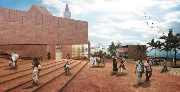 Among the design projects that David Adjaye and his firm Adjaye Associates have taken on is the Cape Coast Slavery Museum in Ghana.