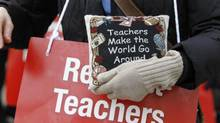 Teacher contracts will expire in August. Bargaining is expected to begin in earnest this summer. (Peter Power/The Globe and Mail)