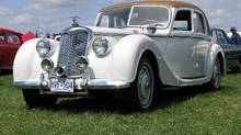 The 1951 Riley RMB four-door saloon was about 90 per cent restored when Dave Morris bought it.