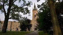 A scenic view of Middlesex College at the University of Western, Ontario in London, Ontario. (GEOFF ROBINS/The Globe and Mail)