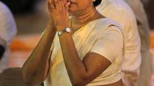 Sri Lankan Chief Justice Shirani Bandaranayake. (ERANGA JAYAWARDENA/ASSOCIATED PRESS)