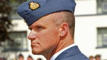 Colonel Russell Williams, shown in July of 2009 as commander of CFB Trenton, faces two concurrent life sentences for first-degree murder. (MCpl Trainor/Master Corporal Tom Trainor/DND)