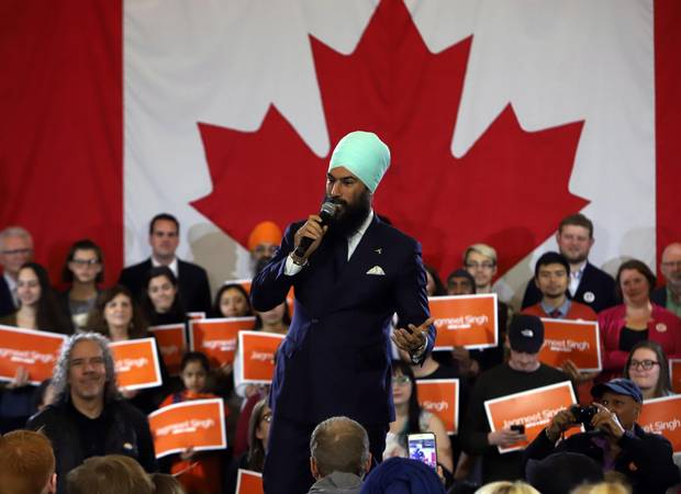 Jagmeet Singh, kicking off his first cross-country tour as NDP Leader at a rally in Ottawa last Sunday, is navigating the contradictory positions of NDP provincial governments in Alberta and B.C. on pipeline development.