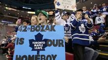 There is plenty of steak behind the Maple Leafs' sizzle going into the 2013-14 season, unlike their NBA cousins Toronto Raptors (REBECCA COOK/REUTERS)