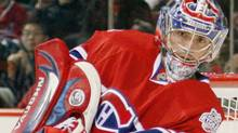 Carey Price #31 of the Montreal Canadiens clears the puck during the game against the Los Angeles Kings at the Bell Centre on January 31, 2009 in Montreal, Quebec, Canada. The Canadiens defeated the Kings 4-3. (Photo by Richard Wolowicz/Getty Images) (Richard Wolowicz/2009 Getty Images)
