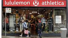 A Lululemon in Kitsilano, B.C. (RICHARD LAM)