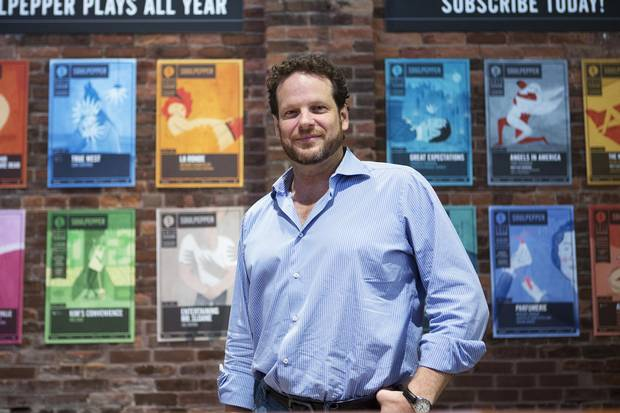 Albert Schultz at the Young Centre for the Performing Arts in Toronto on July 20, 2013.