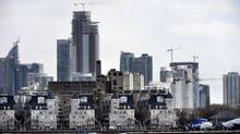 Sales of new condos in the Toronto area in March hit the highest level ever for the month. (Fred Lum/The Globe and Mail)