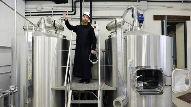Father Prior Benedict Nivakoff is an American Benedictine monk who lives in Norcia and brews a beer called