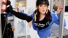 In Roller Derby Saved My Soul Nancy Kenny stars as a shy 30-year-old who discovers her inner superhero after a trip to the roller derby. (Richard Gilmore)