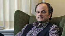 Pulitzer winner Jeffrey Eugenides at his home in Princeton, N.J. (Mel Evans/Mel Evans / AP)