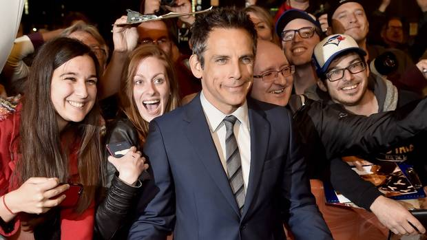 Ben Stiller arrives for a showing of Brad's Status at the Toronto International Film Festival on Saturday, Sept. 9, 2017.