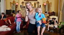 "A scene from the documentary ""The Queen of Versailles"" (Lauren Greenfield)"